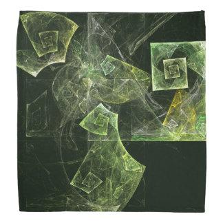 歪んだバランスの抽象美術 バンダナ