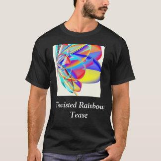 歪んだ虹は悩みます Tシャツ