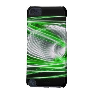 歪んだ1つの緑 iPod TOUCH 5G ケース