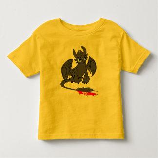 歯のないイラストレーション02 トドラーTシャツ