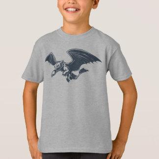 歯のないキャラクターの芸術 Tシャツ