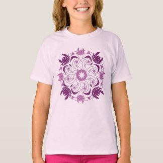 歯のない紫色アイコン Tシャツ