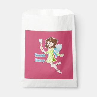 歯の妖精の記念品の~かわいく小さく新しいアイディア フェイバーバッグ