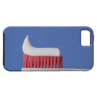 歯ブラシの歯磨き粉のクローズアップ iPhone SE/5/5s ケース