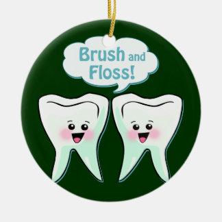 歯科の芸術 セラミックオーナメント