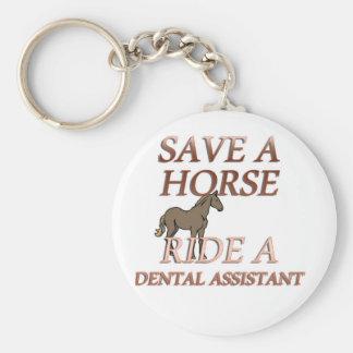 歯科助手に乗って下さい キーホルダー