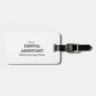 歯科助手 ラゲッジタグ