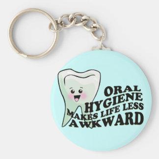 歯科医および歯科衛生士のギフト キーホルダー