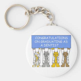 歯科医として卒業のお祝い キーホルダー