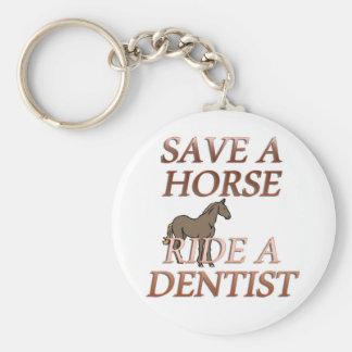 歯科医に乗って下さい キーホルダー