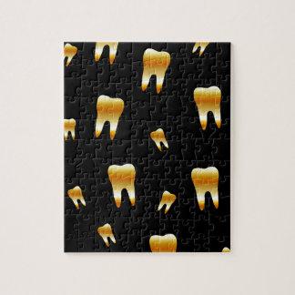 歯科医のための歯の壁紙 ジグソーパズル
