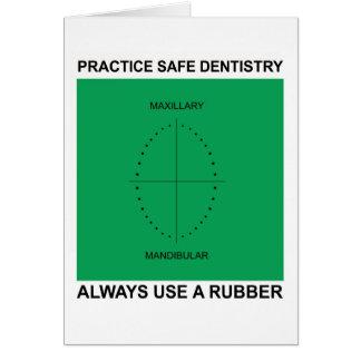 歯科医のための歯科挨拶状 カード