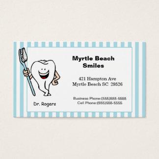 歯科医のアポイントメントおよび名刺 名刺