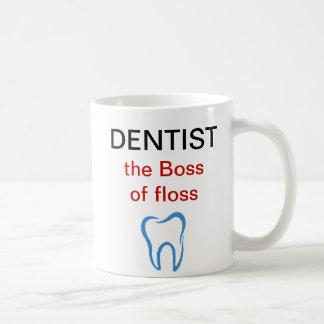 歯科医のテーマのコーヒー・マグ コーヒーマグカップ