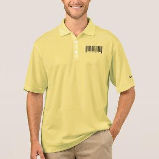 歯科医のバーコード ポロシャツ