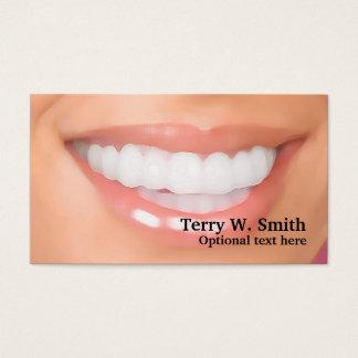 歯科医の完全なスマイルの名刺 名刺