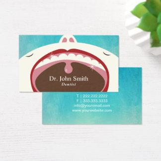 歯科医の専門の子供の歯科健康 名刺
