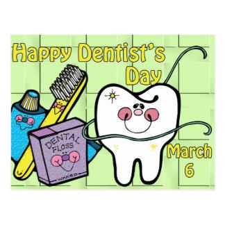歯科医の日3月6日 ポストカード