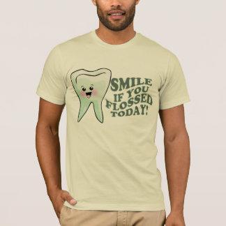 歯科医の歯科プロフェッショナル Tシャツ