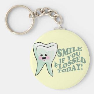 歯科医の歯科衛生士の歯科矯正医のPeriodontist キーホルダー