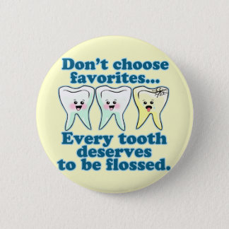 歯科医の歯科衛生士の歯科 缶バッジ