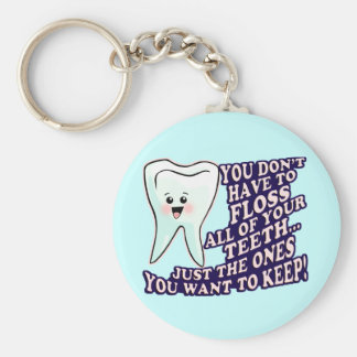歯科医の歯科衛生士のPeriodontist キーホルダー