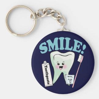 歯科医の歯科衛生士 キーホルダー