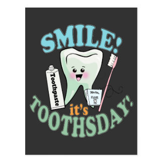 歯科医の歯科衛生士 ポストカード