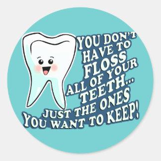 歯科医の歯科衛生士 ラウンドシール