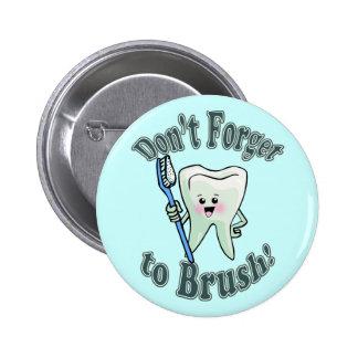 歯科医の歯科衛生士 5.7CM 丸型バッジ