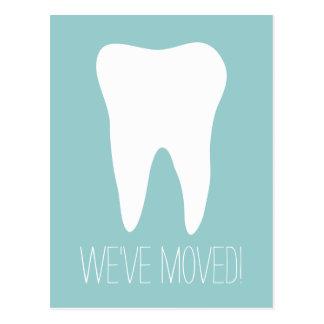 歯科医の練習のためのカスタムな移動郵便はがき ポストカード