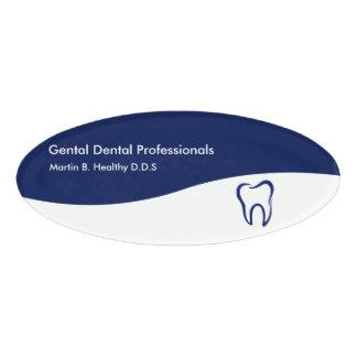 歯科医の職員 名札