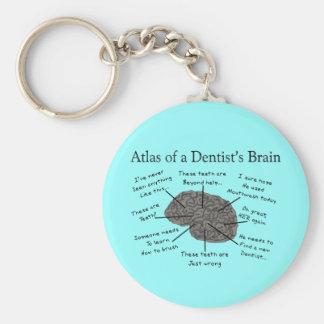 歯科医の頭脳の地図書 キーホルダー