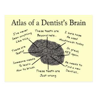 歯科医の頭脳の地図書 ポストカード