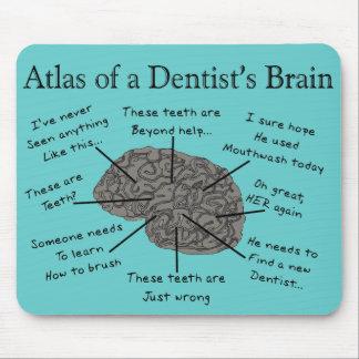 歯科医の頭脳の地図書 マウスパッド