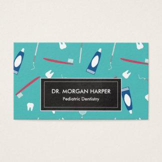 歯科医はパターン|小児科の歯科に用具を使います 名刺