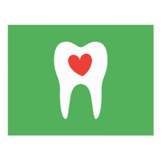 歯科医緑歯科医院のアポイントメントのメモ ポストカード
