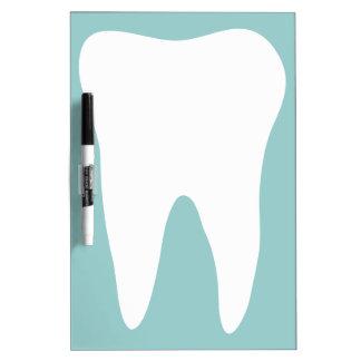 歯科医院の歯科医のための乾燥した消去板 ホワイトボード