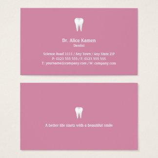 歯科医|の幸せな歯 名刺