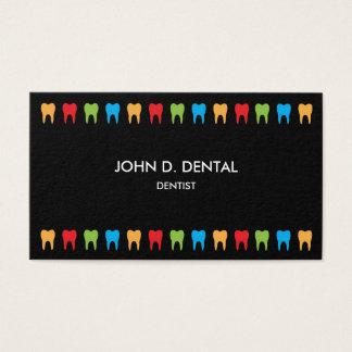 歯科医、歯科ビジネスまたはプロフィールカード 名刺