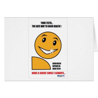歯科練習の昇進のギフト カード