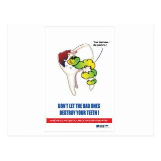 歯科練習の昇進のギフト ポストカード