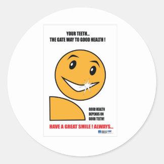 歯科練習の昇進のギフト ラウンドシール