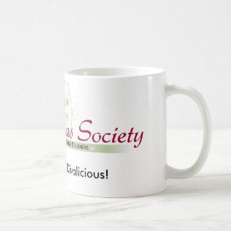 歯科花型女性歌手のマグ コーヒーマグカップ