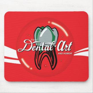 歯科芸術及びユーモアのマウスパッド マウスパッド