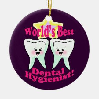歯科衛生士 セラミックオーナメント