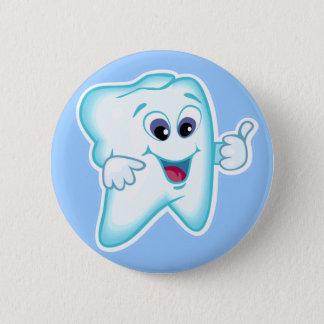 歯科衛生士 5.7CM 丸型バッジ