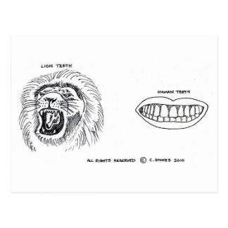 歯 ポストカード