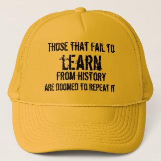 歴史から学ばないそれら キャップ