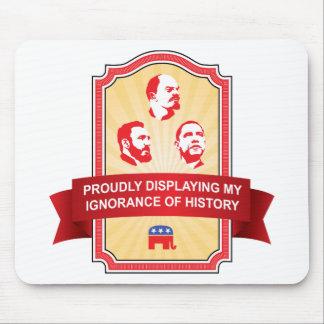 歴史についての共和党員の無知 マウスパッド